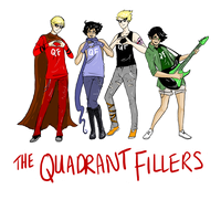 the quadrant fillers (humanity's best boyband) by TheBlackFalcon