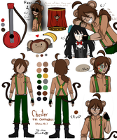 Chester The Chimpanzee by JustALittleZombie