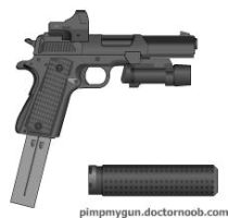 CS machine pistol: phersefone model by aniviod2904