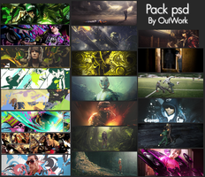 Psd Pack by OutWork-Zone