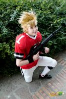 Eyeshield 21 : Hiruma Yoichi by MischievousBoyAilime