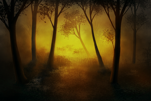 Forest On Fire by CuteReaper