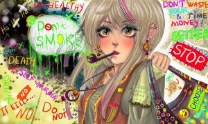 DON'T SMOKE by AnnaNaboka