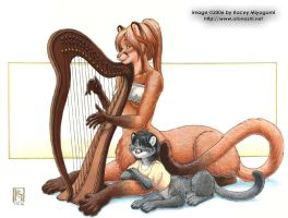 Windsong's Harp by KaceyM