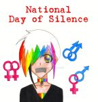 National Day of Silence 2008 by shadowmancer32