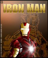 IRON MAN POSTER by Cid-Vicious