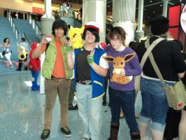 AX 2011 Brock Ash and Gary by The-Clockwork-Crow