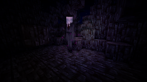 Slenderman Meets minecraft by MinecraftParadise