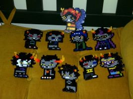 Homestuck: ALL THE TROLLS (Pfft, not really) by LingeringSentiments