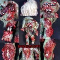 Rot Tot Garbage Pail Kid Custo by Undead-Art