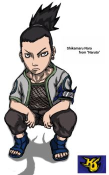 Shikamaru Nara from Naruto Commission by KeithJettProductions