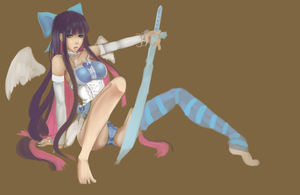 Stocking wip 3 by Koike-sama