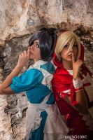 Ciel Phantomhive and Alois Trancy by mbISO100