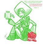 Peridot's Posterior Prescription by HeartlessSlayer