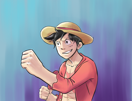 Luffy Wuffy by devpose