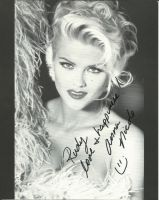 Anna Nicole Smith Autograph by The-1One