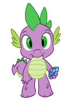 Little Spike by Geckochan