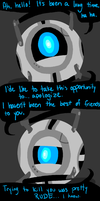 wheatley apologizes by Homemade-Happiness