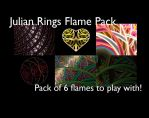 Julian Rings Flame Pack by mfcreative