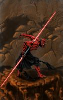 Darth Maul by leseraphin