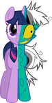 Twilight Two-Face by porygon2z