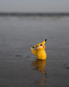 Pikachu in Florida by Bimmi1111