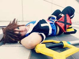Sora Kingdom hearts Cosplay by NaruKukabaraKiuury