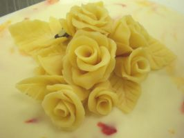 White Chocolate Roses by Heidilu22