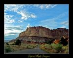 Capitol Reef Canyon by deepestwonder