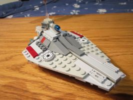 Acclamator class Star Destroyer (Microscale) by Taggerung1
