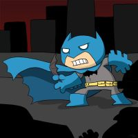 b is for batman by striffle