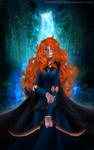 Brave - Princess Merida by zaameen