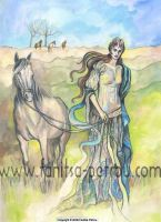 The Horse Goddess by fanitsafantasy