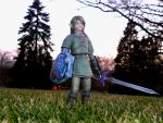 Twilight Link Papercraft by TouchFuzzyGetDizzy