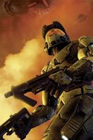 Master Chief 02 by shadowtek