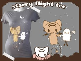Starry Flight Tee by lafhaha