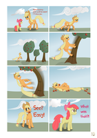 Applejack comics by iOVERD