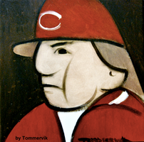 pete rose abstract by TOMMERVIK