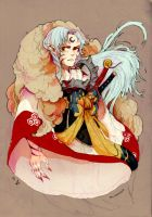 sesshomaru by faQy
