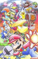 Super Smash Bros. Fellowship 2015 by C-Studios