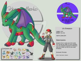 Scaleon by Pokemon-Mento