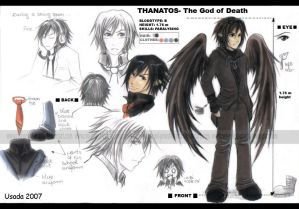 OC Thanatos- chara design
