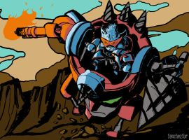 Tengen Toppa Rumble Lagann by Sanchezfor
