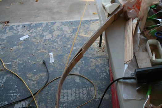 Recurve Bow Assembled 1 by phrostie