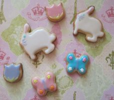 Easter cookies by Sadeira