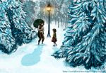 Narnia Meeting Mr. Tumnus by Valaquia