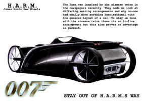 H.A.R.M. Car Concepts Back by Fetid-Wreck