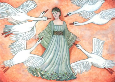 The six swans by mindonna