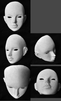 Head painted white by Elysion-Gear