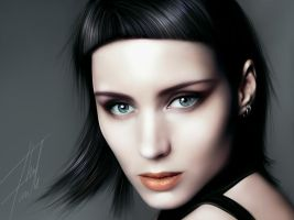Rooney Mara by youtuneo
